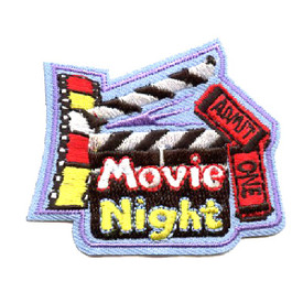 S-4373 Movie Night Patch