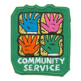 S-0358 Community Service Patch