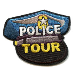 S-4375 Police Tour Patch