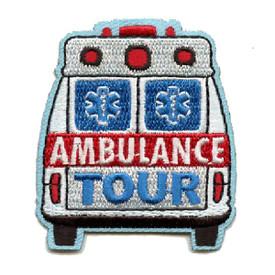 S-4376 Ambulance Tour Patch
