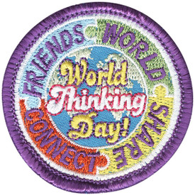 S-4379 World Thinking Day Patch