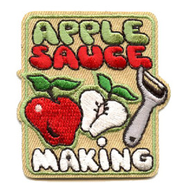 S-4383 Apple Sauce Making Patch