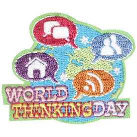 S-4385 World Thinking Day Patch