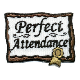 S-0359 Perfect Attendance Patch