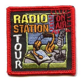 S-4392 Radio Station Tour Patch