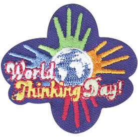 S-4397 World Thinking Day Patch