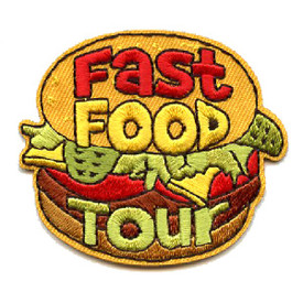 S-4402 Fast Food Tour Patch