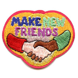 S-4403 Make New Friends Patch