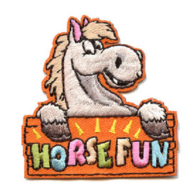 S-4411 Horse Fun Patch