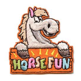 S-4411 Horse Fun Patch