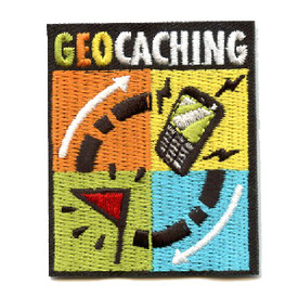 S-4416 Geocaching Patch