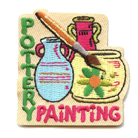 S-4422 Pottery Painting Patch