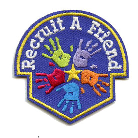 S-4426 Recruit A Friend Patch