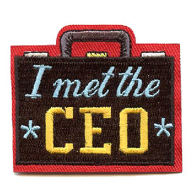 S-4431 I Met The CEO Patch