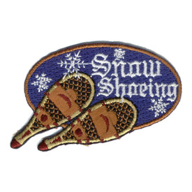 S-0366 Snowshoeing - Snow Shoes Patch