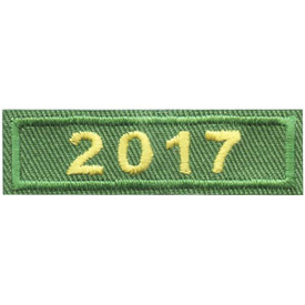 S-4448 2017 Green Year Bar Patch