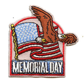 S-4459 Memorial Day Patch