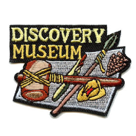 S-4462 Discovery Museum Patch