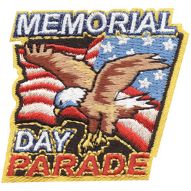 S-4463 Memorial Day Parade Patch