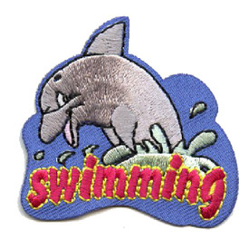 S-4464 Swimming Patch