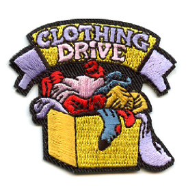 S-4472 Clothing Drive Patch