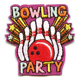 S-4473 Bowling Party Patch