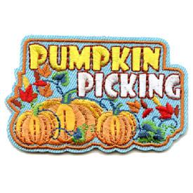 S-4475 Pumpkin Picking Patch