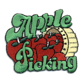 S-0369 Apple Picking Patch