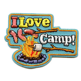 S-4479 I Love Camp! Patch