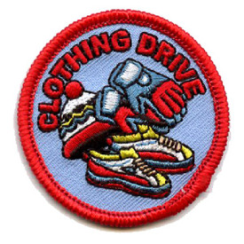 S-4481 Clothing Drive Patch
