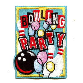 S-4482 Bowling Party Patch