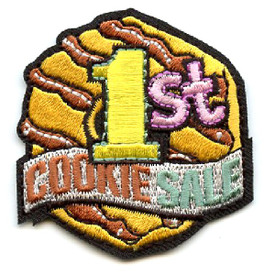 S-4483 1st Cookie Sale Patch