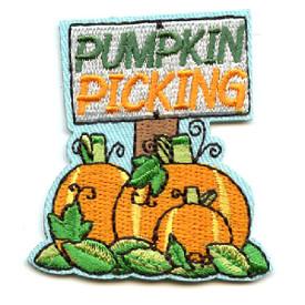 S-4484 Pumpkin Picking Patch