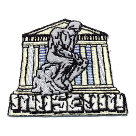 S-0371 Museum (The Thinker) Patch