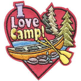 S-4488 I Love Camp! Patch