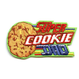 S-4493 Super Cookie Dad Patch