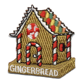 S-0372 Gingerbread - House Patch