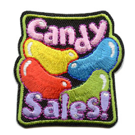 S-4501 Candy Sales Patch