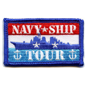 S-4502 Navy Ship Tour Patch