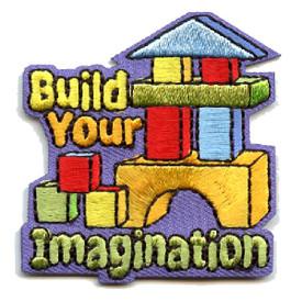 S-4504 Build Your Imagination Patch