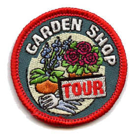 S-4505 Garden Shop Tour Patch