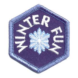 S-0373 Winter Fun - Snowflake Patch