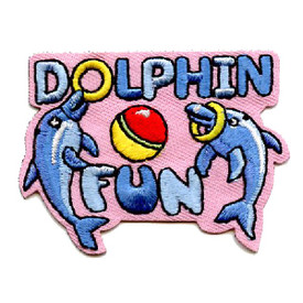 S-4507 Dolphin Fun Patch