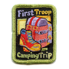 S-4508 First Troop Camping Trip Patch