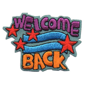 S-4514 Welcome Back Patch