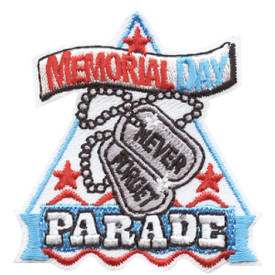 S-4517 Memorial Day Parade Patch