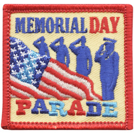 S-4520 Memorial Day Parade Patch