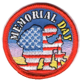 S-4521 Memorial Day Patch