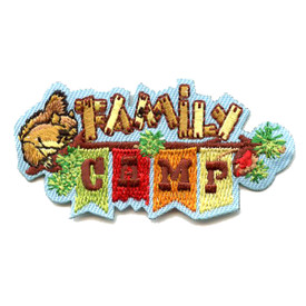 S-4522 Family Camp Patch