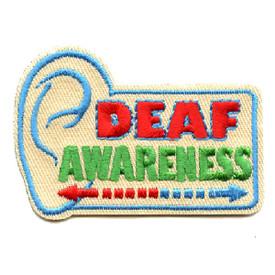 S-4533 Deaf Awareness Patch